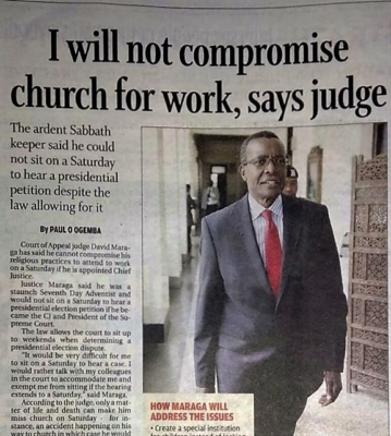 Kenya Judge
